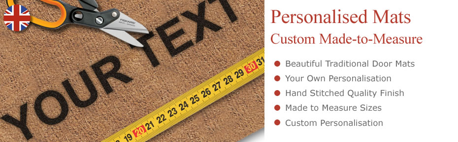 Mats personalised to your requirements