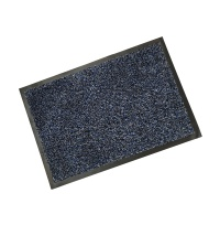 Rubber Border Wash Mats  Rubber Border Cotton Wash Mat - Blue