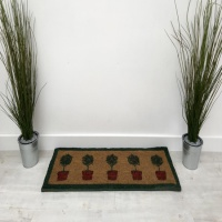 Potted Trees Doormat