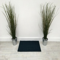 PVC Backed Coir Doormats - Blue