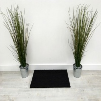 PVC Backed Coir Doormats - Anthracite