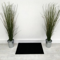 Superior Coir Doormat - Black