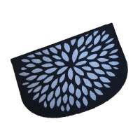 Decorative Wash Mats Decorative Wash Mat - Silver Flower