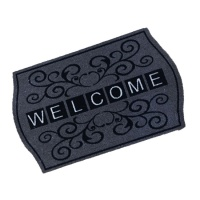 Decorative Wash Mats Decorative Wash Mat - Welcome Scroll