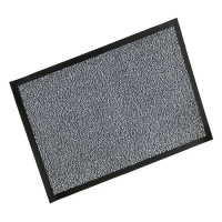 Rubber Border Wash Mats  Rubber Border Polypropylene Wash Mat - Black/White