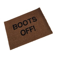 Boots Off!