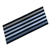 Cook & Wash Mats Cook & Wash Mat - Anthracite Stripe
