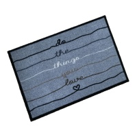 Decorative Wash Mats Decorative Wash Mat - Do The Things You Love