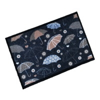 Decorative Wash Mats Decorative Wash Mat - Umbrellas