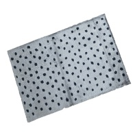 Decorative Wash Mats Decorative Wash Mat - Polka Dots Taupe