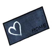 Decorative Wash Mats Decorative Wash Mat - Home Heart Grey