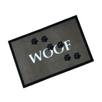 Decorative Wash Mats Decorative Wash Mat - Woof Brown