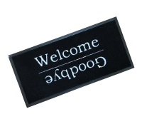 Decorative Wash Mats Decorative Wash Mat - Welcome / Goodbye