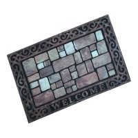 Artisan Doormats Ecomat Outdoor Metal Welcome