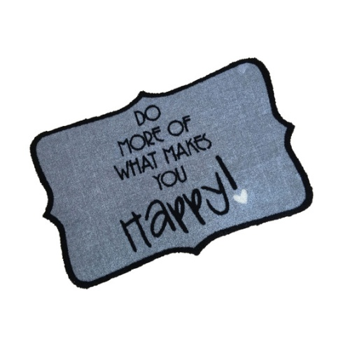 Decorative Wash Mat - Do More of What Makes You Happy!