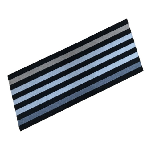 Cook & Wash Mat - Anthracite Stripe