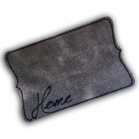 Decorative Wash Mat - Taupe Home