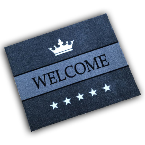 Decorative Wash Mat - Welcome 5 Stars