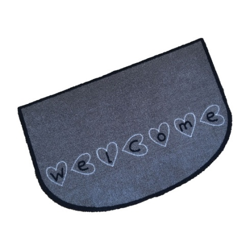 Decorative Wash Mat - Welcome Hearts
