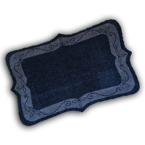 Decorative Wash Mat - Framed Edge