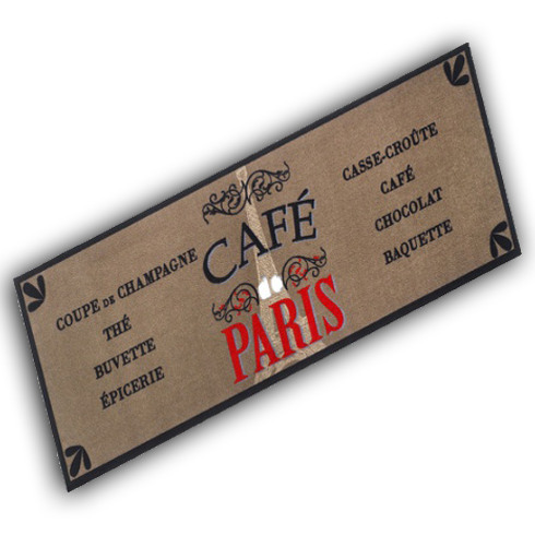 Decorative Wash Mat - Cafe Paris