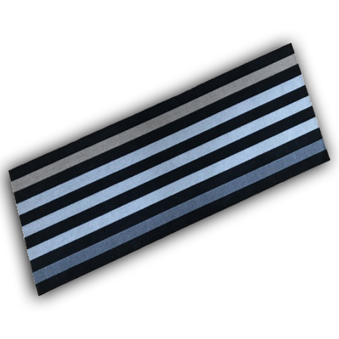 Decorative Wash Mat - Stripe Runner