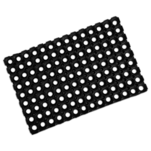 Hollow Rubber Scraper Mat - 16mm Thick