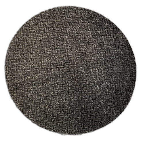 Decorative Wash Mat - Circle Diamonds