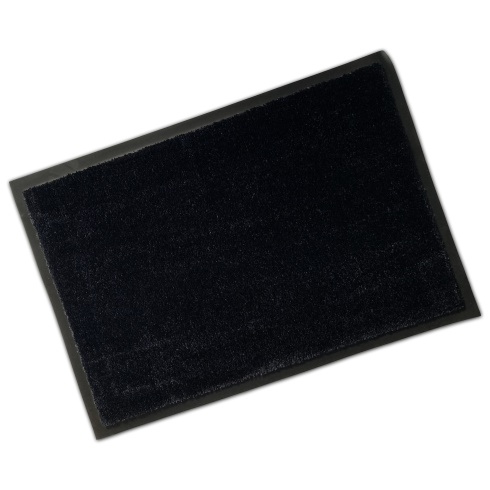 Rubber Border Soft Wash Mat - Anthracite