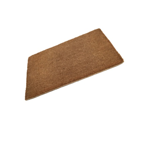 Standard Plain Coir Stitched Edge Doormat - 750mm x 450mm