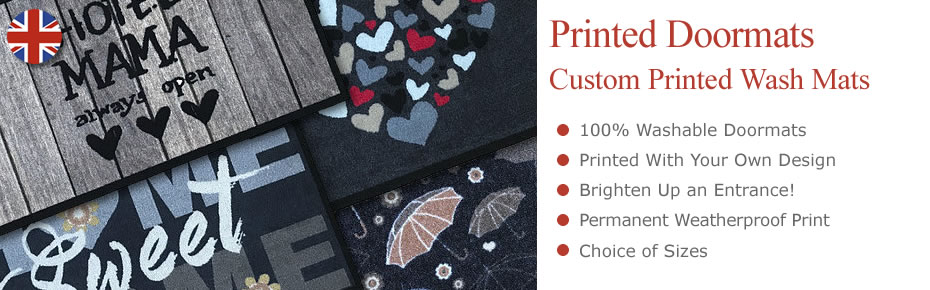 Custom Printed Wash Mats