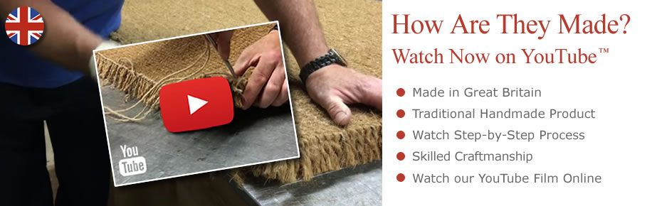 Watch our Oline Video - Handcrafted Coir Mats