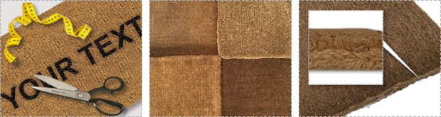 Incredible range of made to measure Coir Door Mats