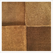 Photo illustration how coir being a natural product comes in different colours!