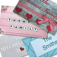 Personalised Cotton Mats