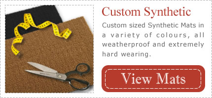 Weatherproof Synthetic Mats