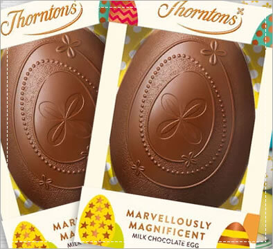 Win one of 4 Luxury Thornton's Easter Eggs!